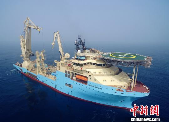 招商局重工(江苏)首艘40万吨VLOC海试