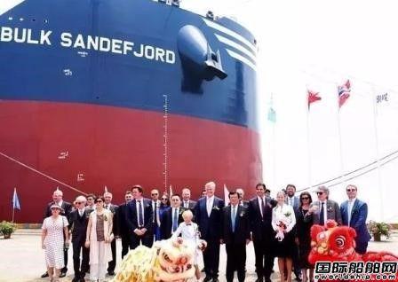 新时代造船5艘散货船将提前8个月交付